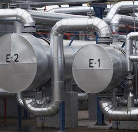 Heat exchangers in insulation
